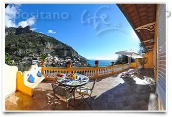 Villa Holiday in Positano