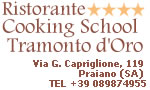 Typical Praiano Amalfi Coast Restaurant and Italian country cooking school Positano Amalfi Coast Italy