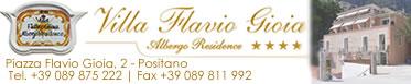 Residence Positano Villa Flavio Gioia Positano accommodations in Positano Amalfi Coast