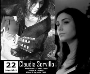 Claudia Sorvillo in Concerto